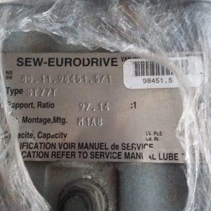 MOTOREDUTOR SEW-EURODRIVE, MODELO ST77T