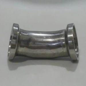 CURVA 45GRAUS 1/2″ TRI-CLAMP EM AÇO INOX 304 POLIDO