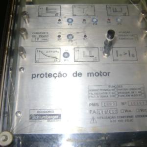 PROTEÇÃO DE MOTOR SCHLUMBERGER (ANTIGO) DÉCADA DE 80