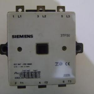 CONTATOR SIEMENS 3TF50 BOBINA 220V