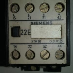 CONTACTOR SIEMENS 22E-3TH8-G51115S