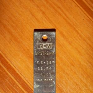 PLACA DE ORIFÍCIO D=11,74 AÇO INOX 304